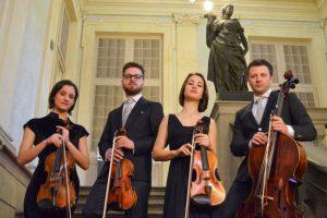 Il Quartetto Adorno in streaming per la Riccitelli